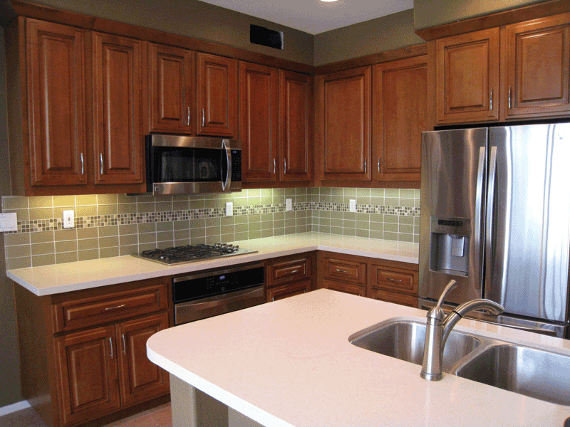 Four kitchen cabinet remodel options for Kitchen cabinets 0 financing