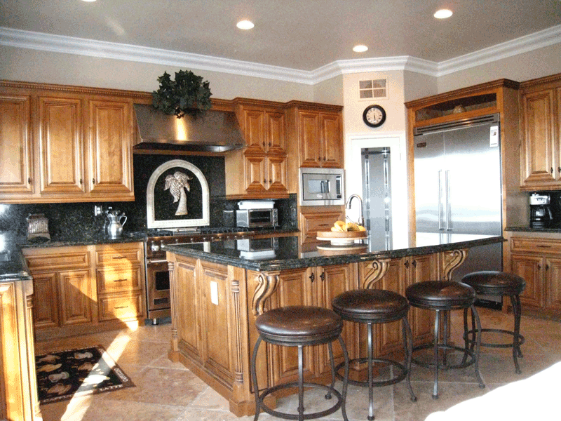 Kitchen cabinet refacing orange county mf cabinets - Modern kitchen cabinets orange county ...