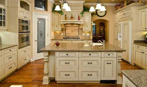 stock kitchen cabinets in california - Old World Kitchen Cabinets