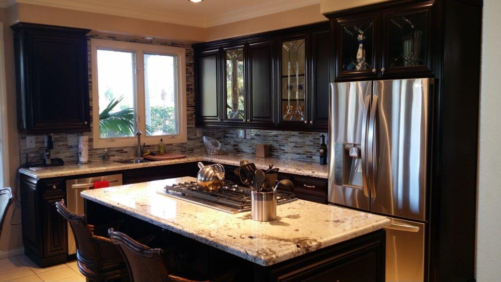 Custom kitchen cabinets with organization for Kitchen cabinets 0 financing