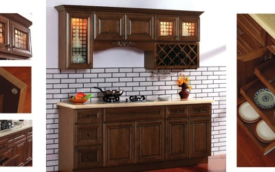 AA Coffee Square kitchen cabinets