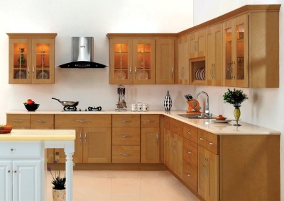 AA Honey Shaker kitchen cabinets