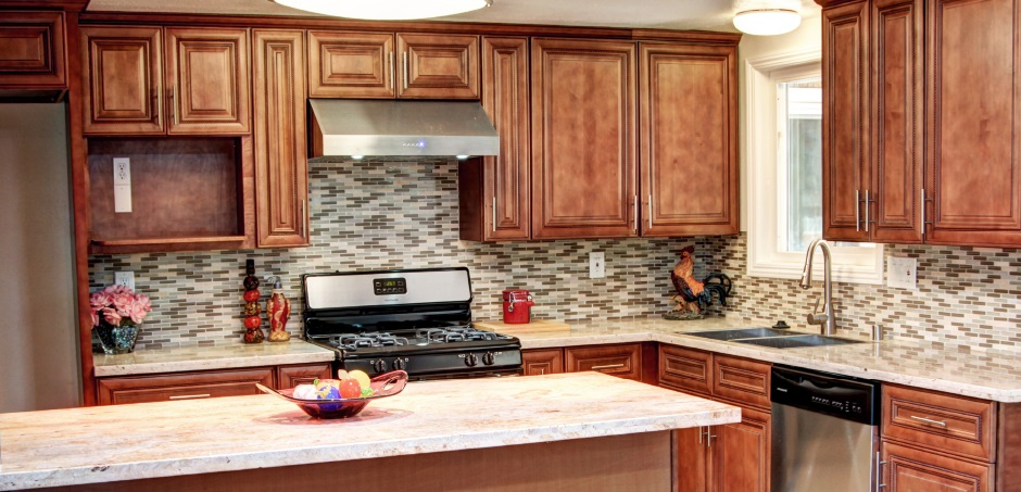 AA Pecan Rope kitchen cabinets ⋆ Cabinet Wholesalers ...