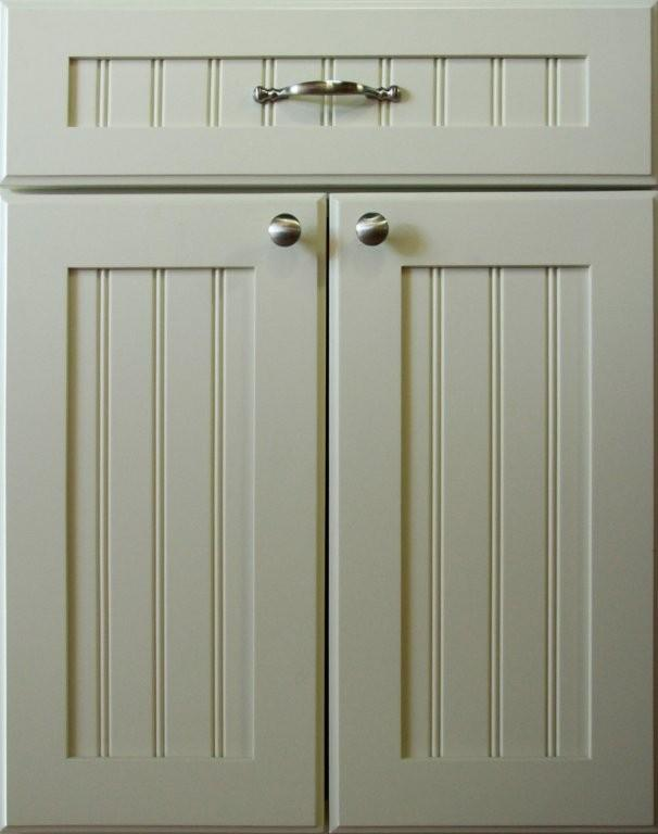 White Beadboard Cabinet Doors Kitchen Cabinet Refacing The Process Just Bought A Place And
