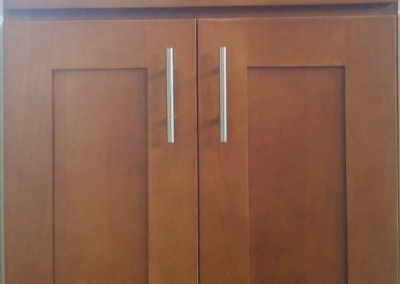 CW Beech Honey Shaker Style Cabinets