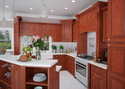 CW Maple Mocha kitchen cabinets