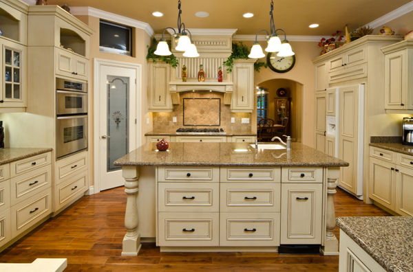 EX Ivory Kitchen Cabinets