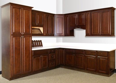 KC Dark Coffee kitchen cabinet door style