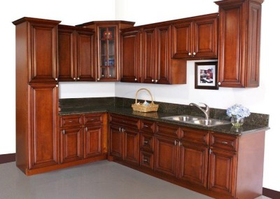 KC Merlot kitchen cabinet door style