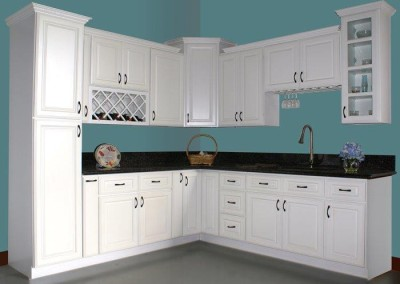 KC White kitchen cabinet door style
