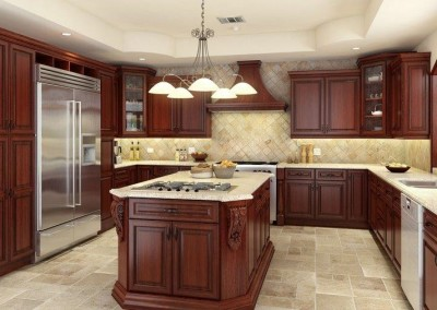 ML Cherry Antique kitchen cabinet door style