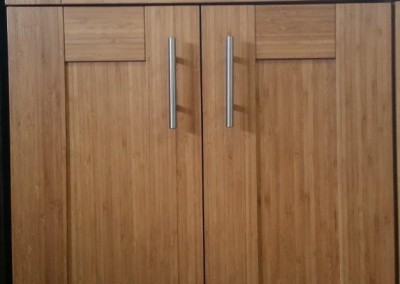 NS Bamboo Shaker Kitchen Cabinet Door Style