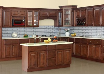 PC Cherry Arch kitchen cabinet door style