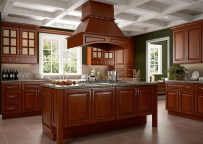 PC Mocha Rope kitchen cabinets