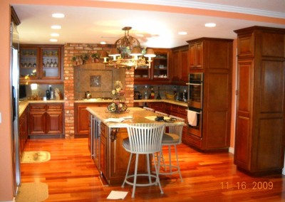Custom kitchen cabinets in Riverside