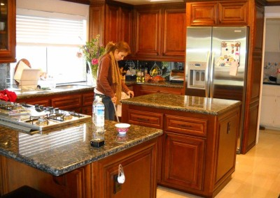 Custom kitchen cabinets in Yorba Linda
