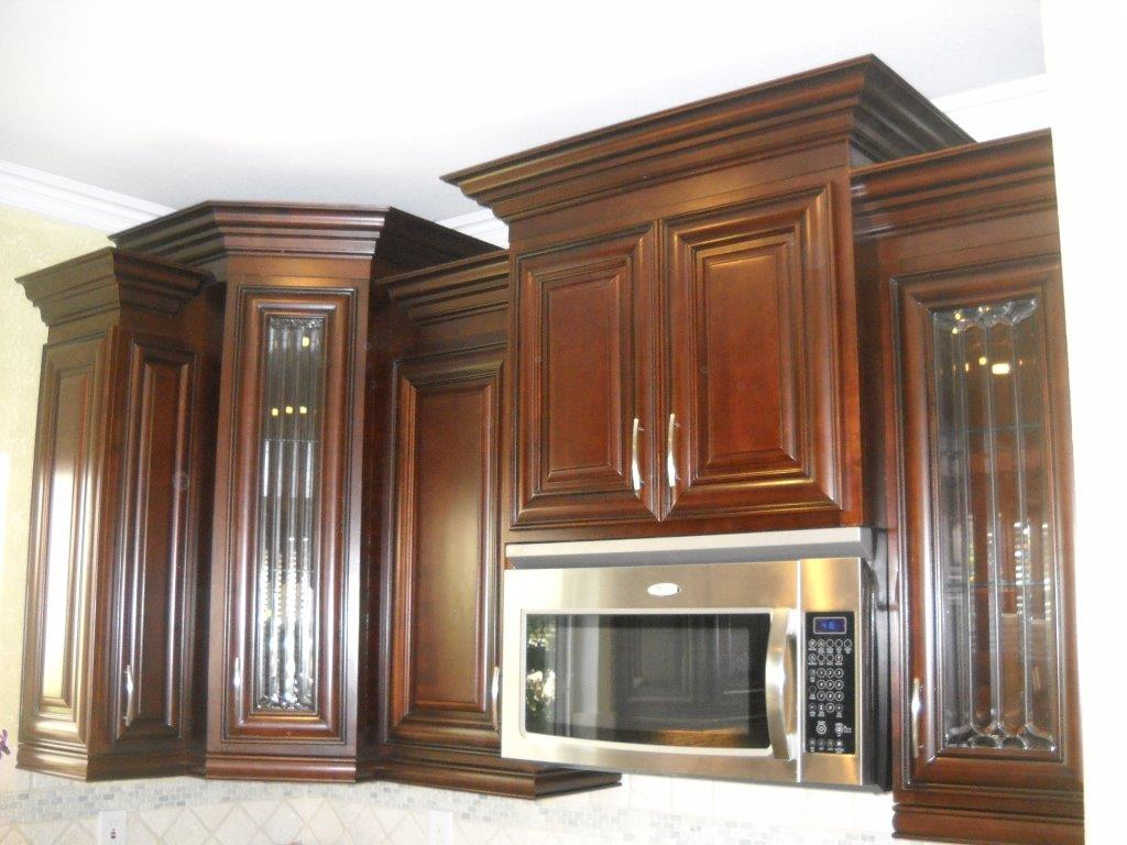 Multi level kitchen cabinets create interest ⋆ Cabinet Wholesalers ...