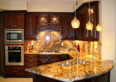 Custom kitchen cabinets in Laguna Niguel