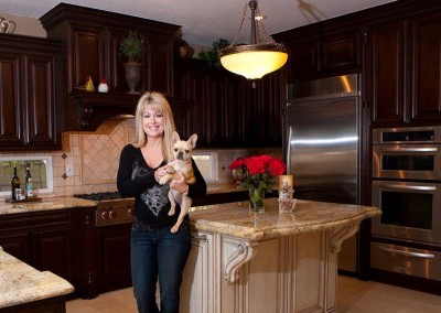 Custom kitchen cabinets in Anaheim Hills
