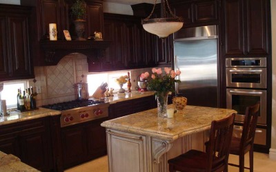 Custom Kitchen Cabinets With All The Extras Included? Oh Yeah!