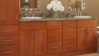 Huge selection of doors and colors for cabinets
