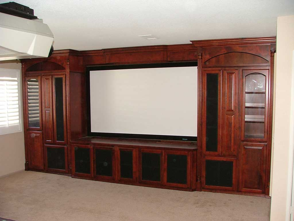 Built In Custom Home Theater Cabinets Cabinet Wholesalers Kitchen Cabinets Refacing And