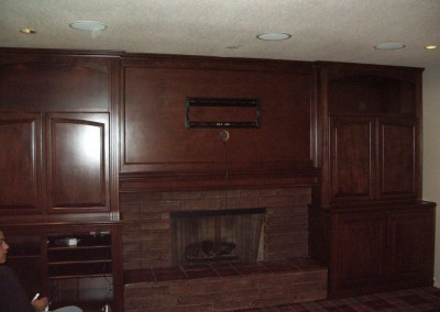 Mount your TV over the fireplace