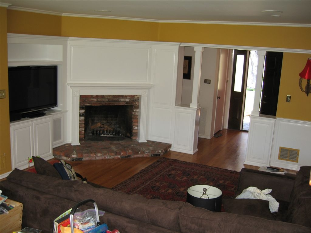 white entertainment center for your socal home