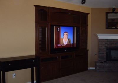 Built in wall unit cabinets