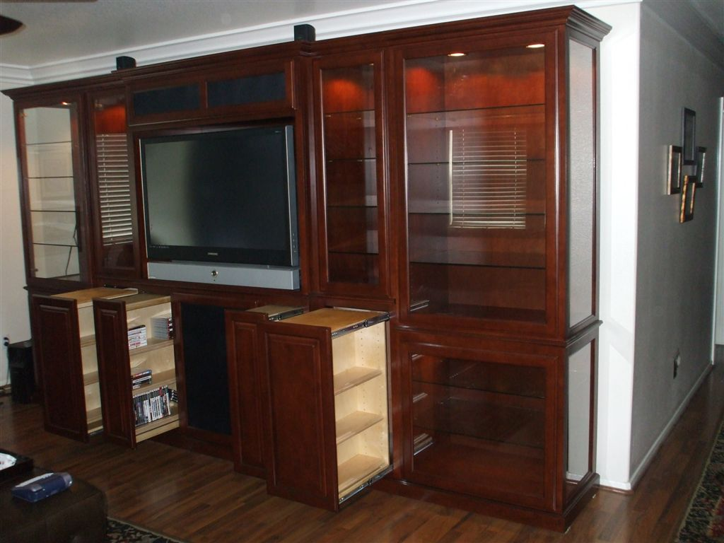 Entertainment Centers Built In Wall Units 168