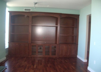 Custom built in cabinets in Huntington Beach