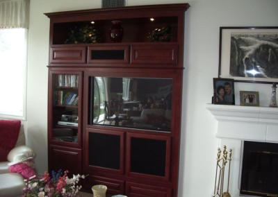 Maple entertainment center