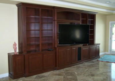 Wall unit with bookshelves in Lake Forest