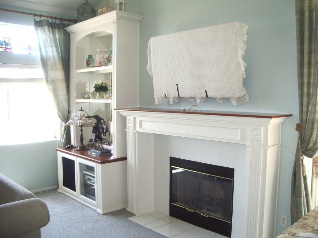 Get a Built In White Entertainment Center from Cabinet Wholesalers