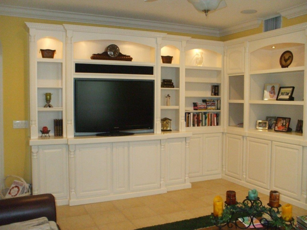 Watch the big game in style cabinet wholesalers kitchen How to build an entertainment wall unit