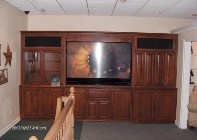 Built in wall unit in Corona