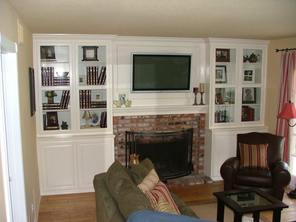 Kitchen Cabinets Entertainment Center built in white entertainment center cabinets around fireplace with