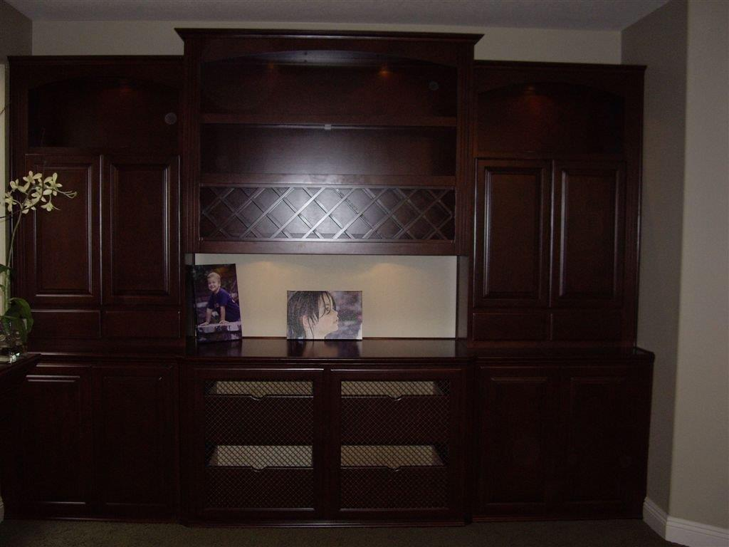 Home office with wine storage & Home office with wine storage ? Cabinet Wholesalers: Kitchen ...