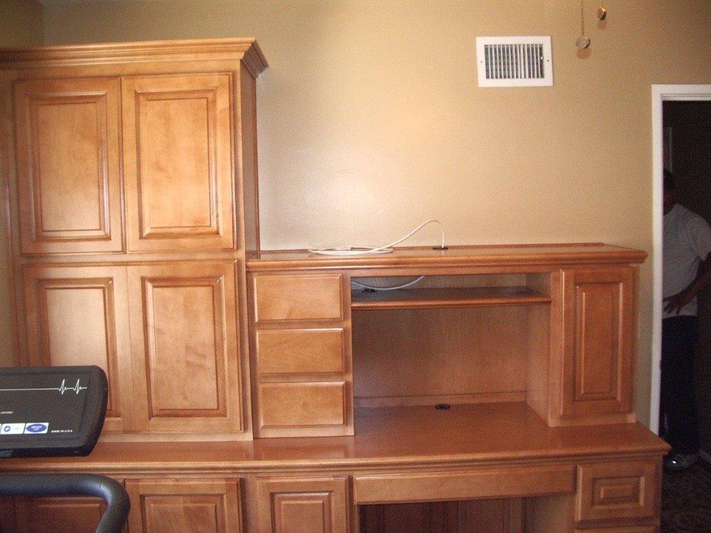 home office cabinets. Maple Desk With Custom Design Home Office Cabinets