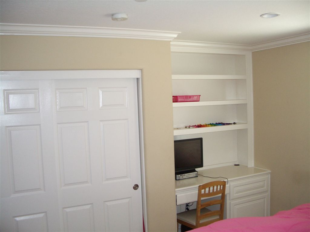 built in white desk for bedroom built office furniture