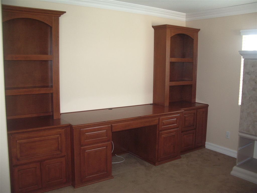 Bookcases and built in desk ⋆ Cabinet Wholesalers Kitchen