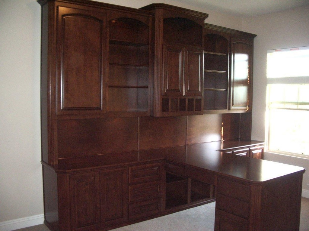 Home office furniture. Custom Home Office Cabinets   Cabinet Wholesalers