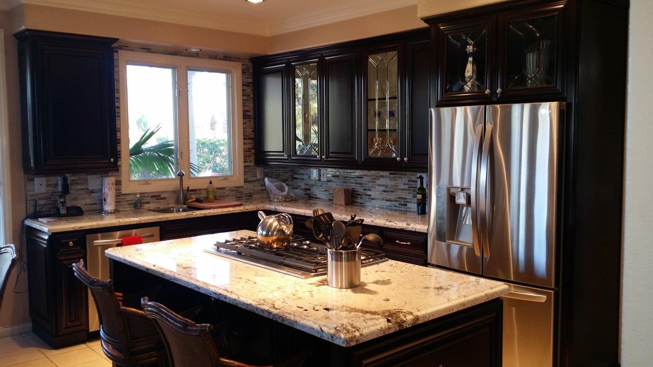 Kitchen cabinet refacing in orange county for Kitchen cabinet refacing