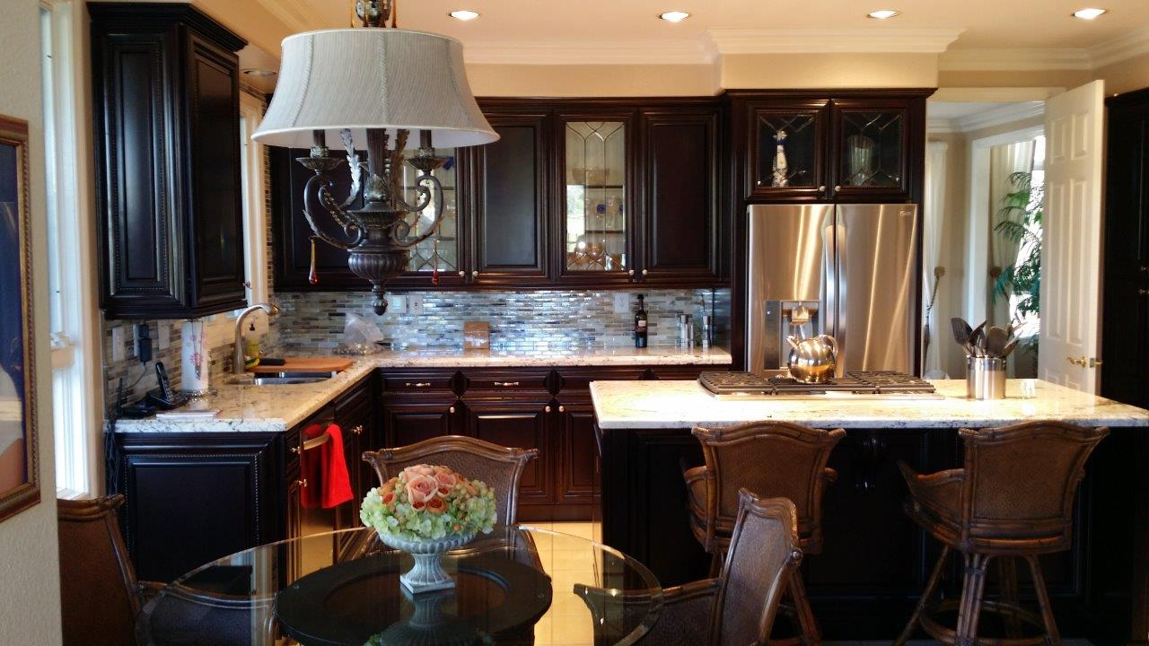 kitchen cabinet refacing in orange county
