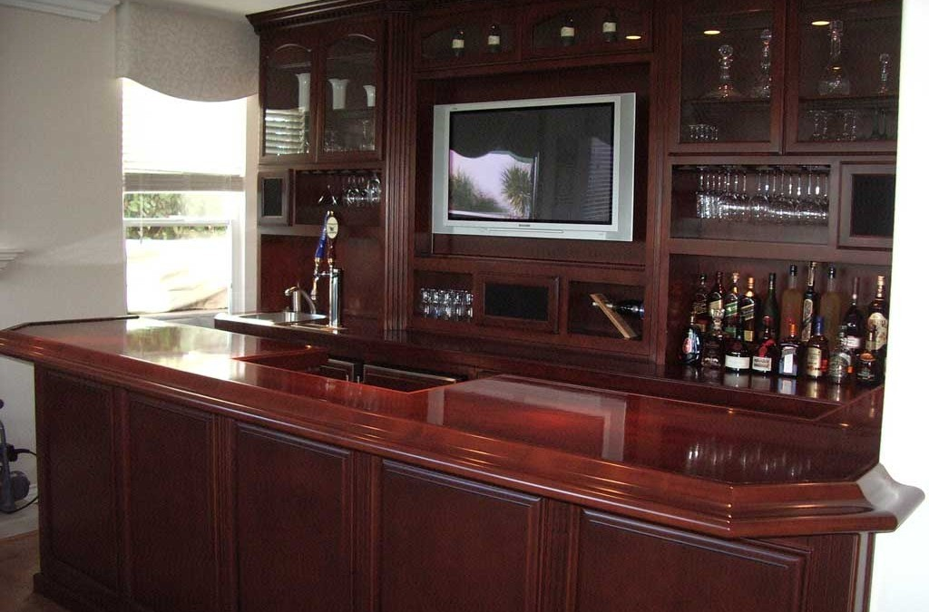 Custom Home Bar Cabinets from Cabinet Wholesalers