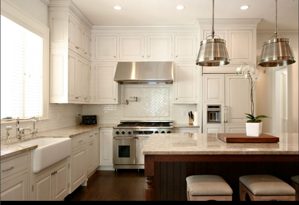 White cabinets for your kitchen are more popular than ever for Kitchen cabinets 0 financing