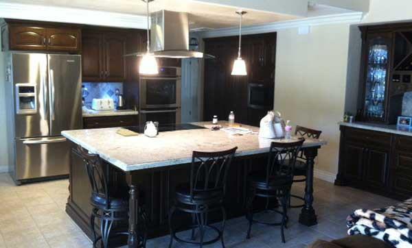Add a new kitchen island with your remodel
