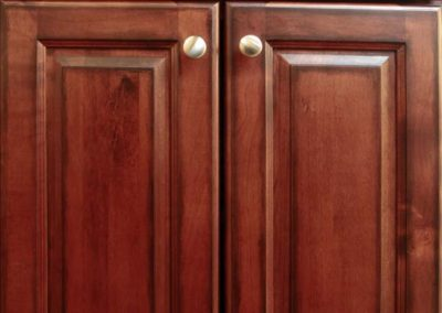 ML Antique Cherry Kitchen Cabinet Door Style