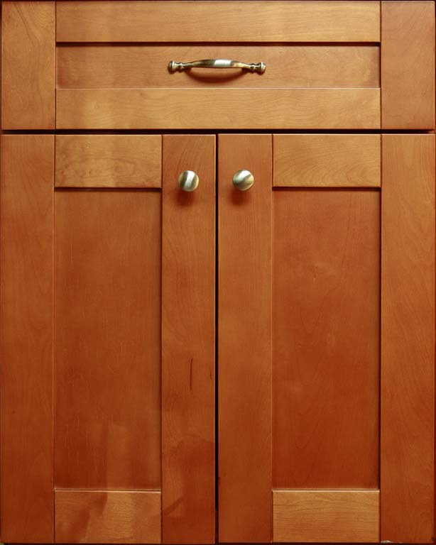 ML Cinnamon Shaker Cabinet Door Style