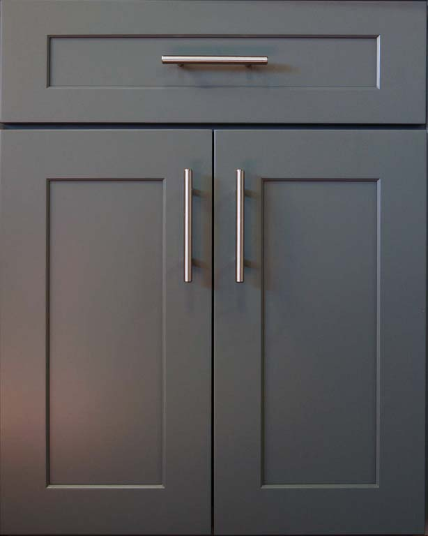 RU Grey Shaker Kitchen Cabinet Door Style Cabinet Wholesalers